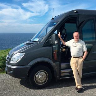 Barry O'Rourke tour guide