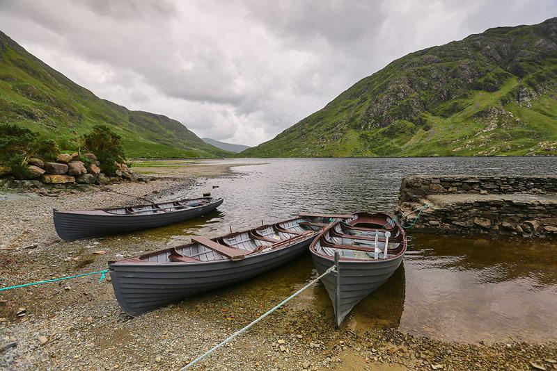Bay Coast - Doolough Pass, County Mayo