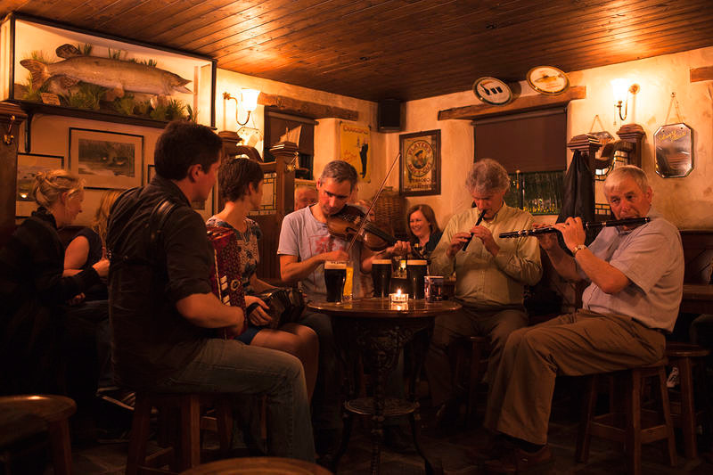 Traditional Music Session Ireland