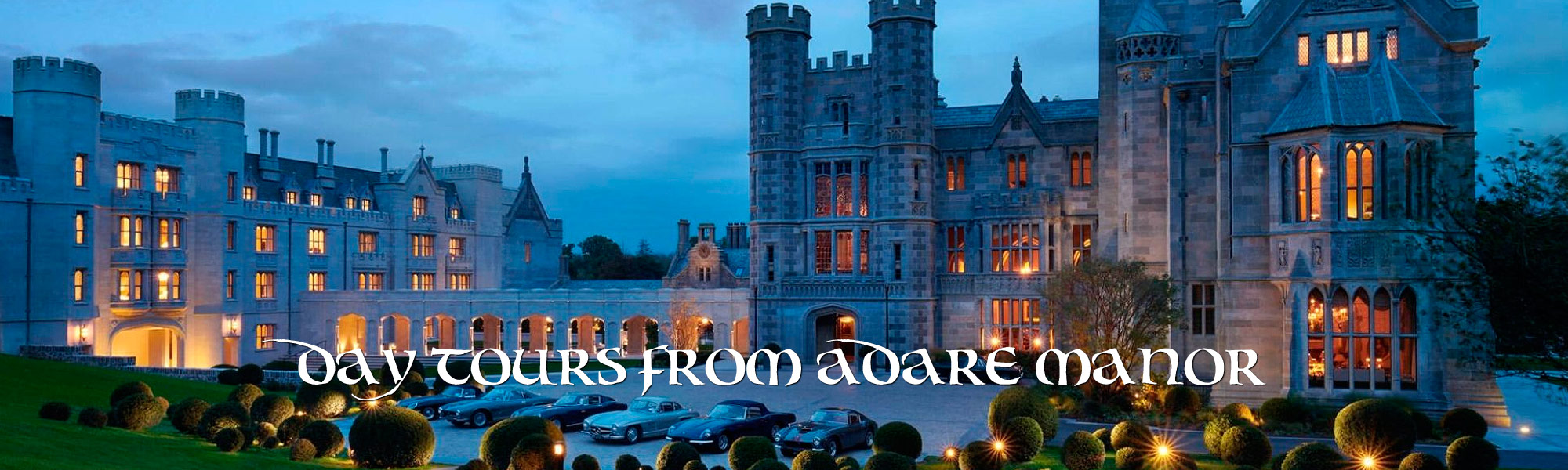 Day tours from Adare Manor
