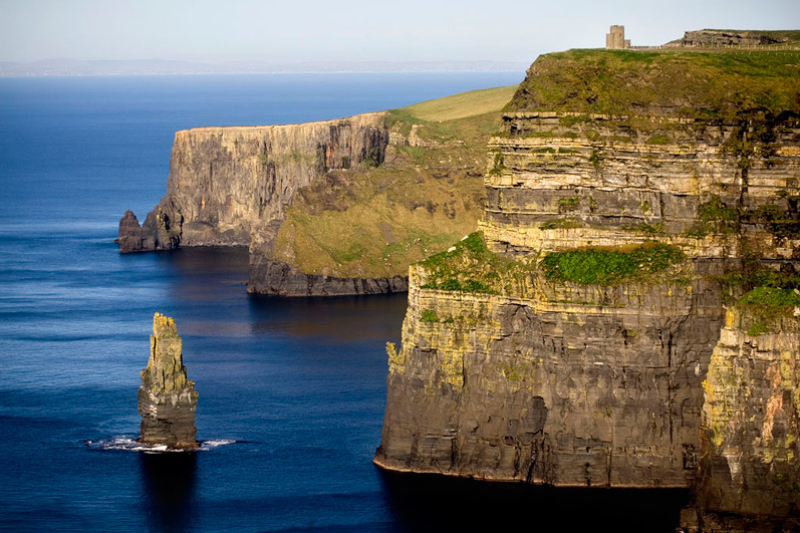 The Cliffs of Moher and O'Brien's Tower