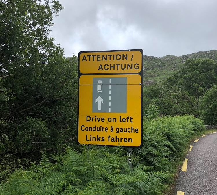 Touring Ireland by car – are you sure you should drive?